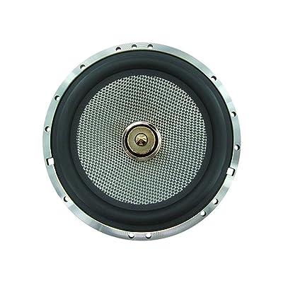 Altavoz de audio para autos de gama alta de 6,5 pulgadas 60 vatios y 4 ohmios Vehículo auto de alto tono Altavoz fuerte para autos Altavoz de audio de alta fidelidad bajo (negro y plateado): Juguetes y juegos