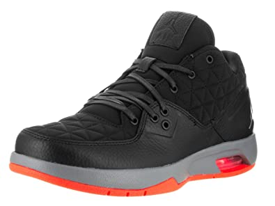 13c8536860da6b Image Unavailable. Image not available for. Color  Nike Mens Jordan Clutch  Black Infrared-Grey Leather Size 10