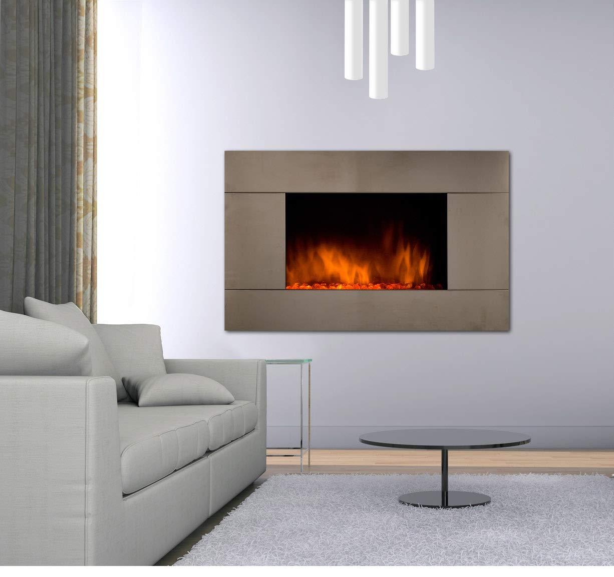 Caminetti elettrici design e calore