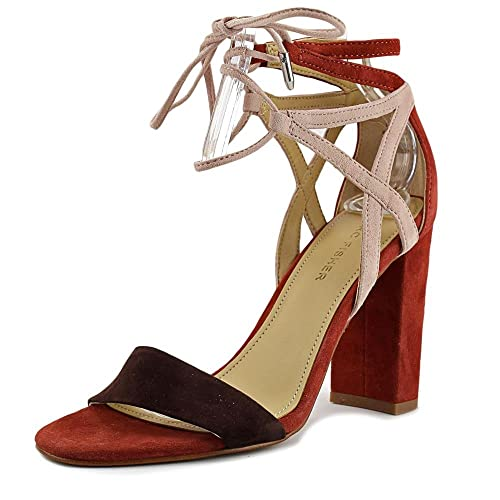 9a27bdb6a61d Marc Fisher Womens Fatima Leather Open Toe Casual Ankle Strap Sandals   Amazon.co.uk  Shoes   Bags