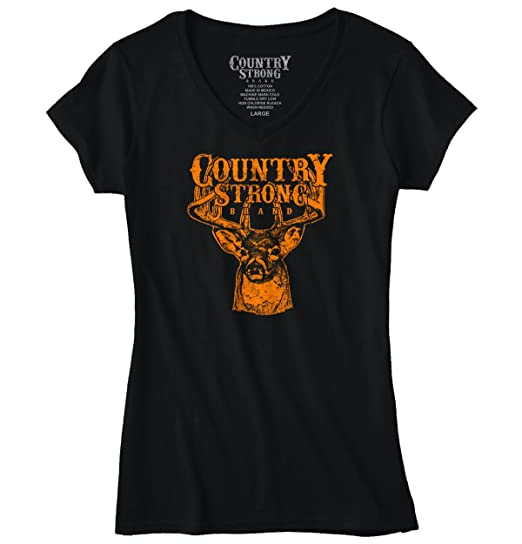 Amazon Com Brisco Brands Country Strong Deer Hunting Western Cowboy