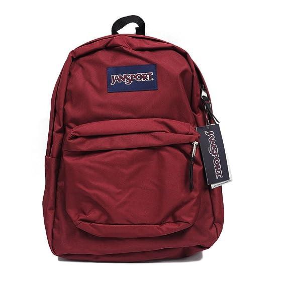 37558c561c10 Jansport Backpack Superbreak School Backpack Original Select Color  Viking  Red  Amazon.co.uk  Clothing