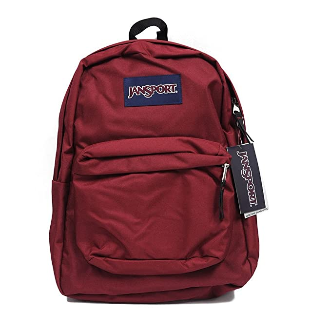 Jansport Mochila Superbreak Mochila Escolar Original: Viking Seleccionar Color Rojo: Amazon.es: Ropa y accesorios