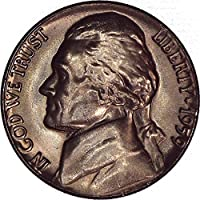 1959 Jefferson Nickel 5C Brilliant Uncirculated