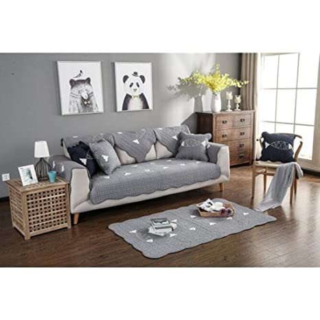 Gxzdfdztygh Cojín de sofá Color sólido Completo Funda de ...