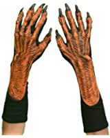 Hands Pumpkin Gloves