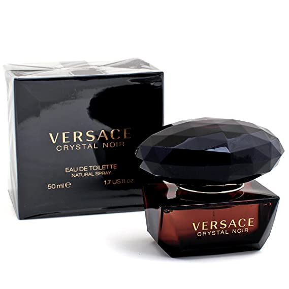 50ml Crystal Vaporisateur Versace Toilette Eau Noir De SGLpUzqMV