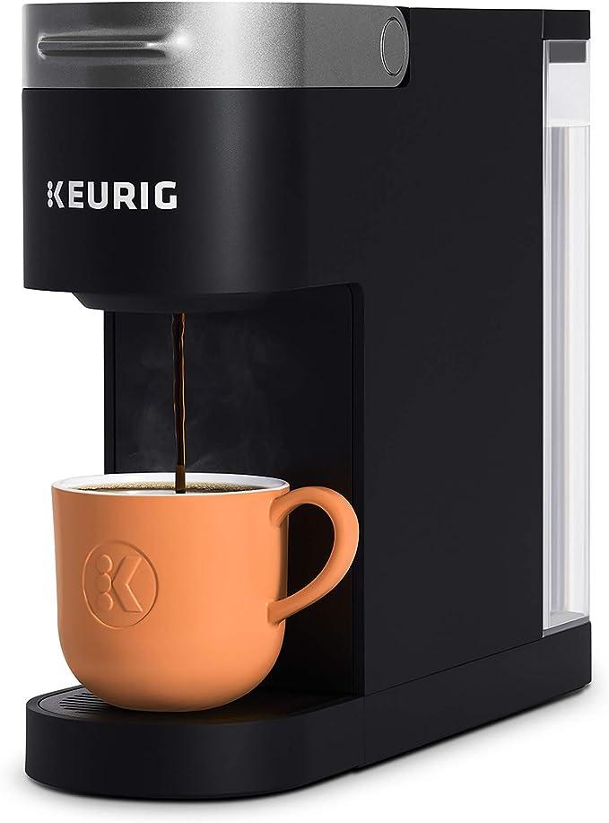 Keurig K-Slim Coffee Maker, Single Serve K-Cup Pod Coffee Brewer, 8 to 12oz. Brew Sizes, Black   Amazon