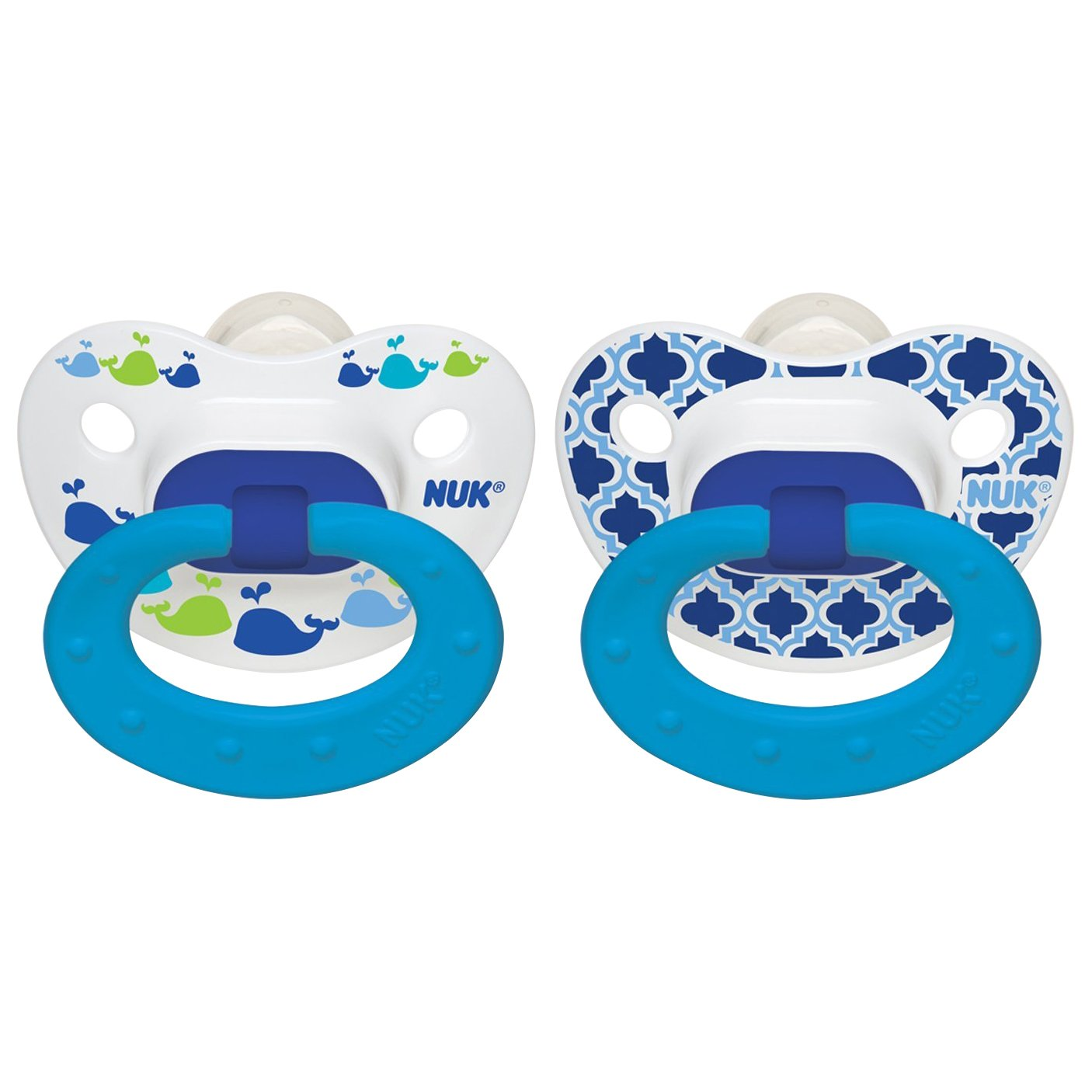 Amazon.com : NUK Sports Puller Pacifier, 18-36 Months, 2 Pack ...