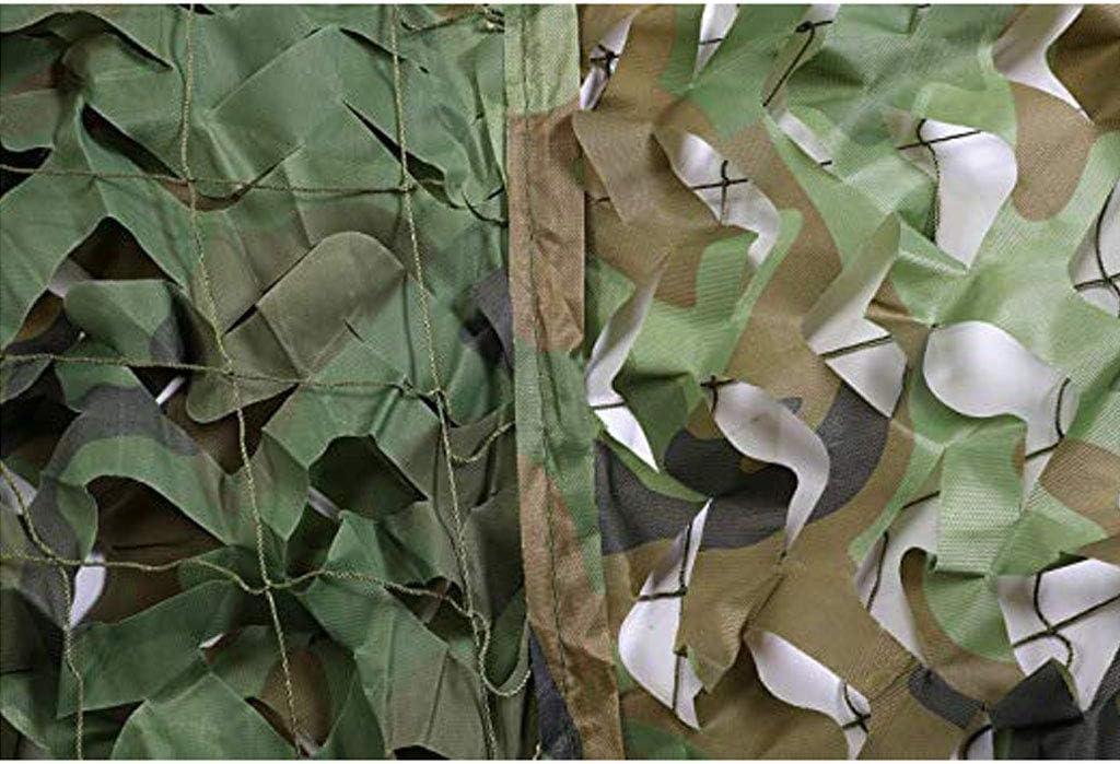 2M×10M LLZ-Tarnnetz Netz Sonnens rm Outdoor Sonnenschutz Sonnens rm Net Bulk Woodland Camouflage Netting Desert Army Military Mesh Wärmedämmung Net Schatten Abdeckung für Camping S eßen Jagd
