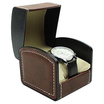 Amazon.com: lanscoe sola visualización caja de reloj de ...