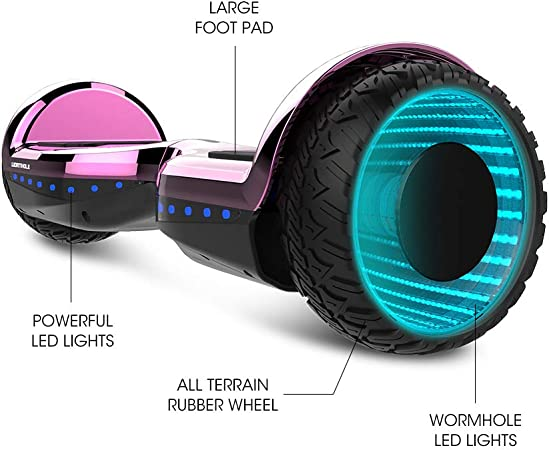 Amazon.com: WORMHOLE patinete eléctrico de doble motor para ...