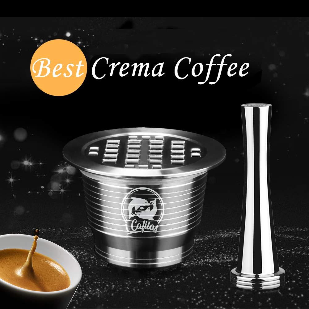 Amazon.com: MG Coffee - Cápsulas recargables de acero ...