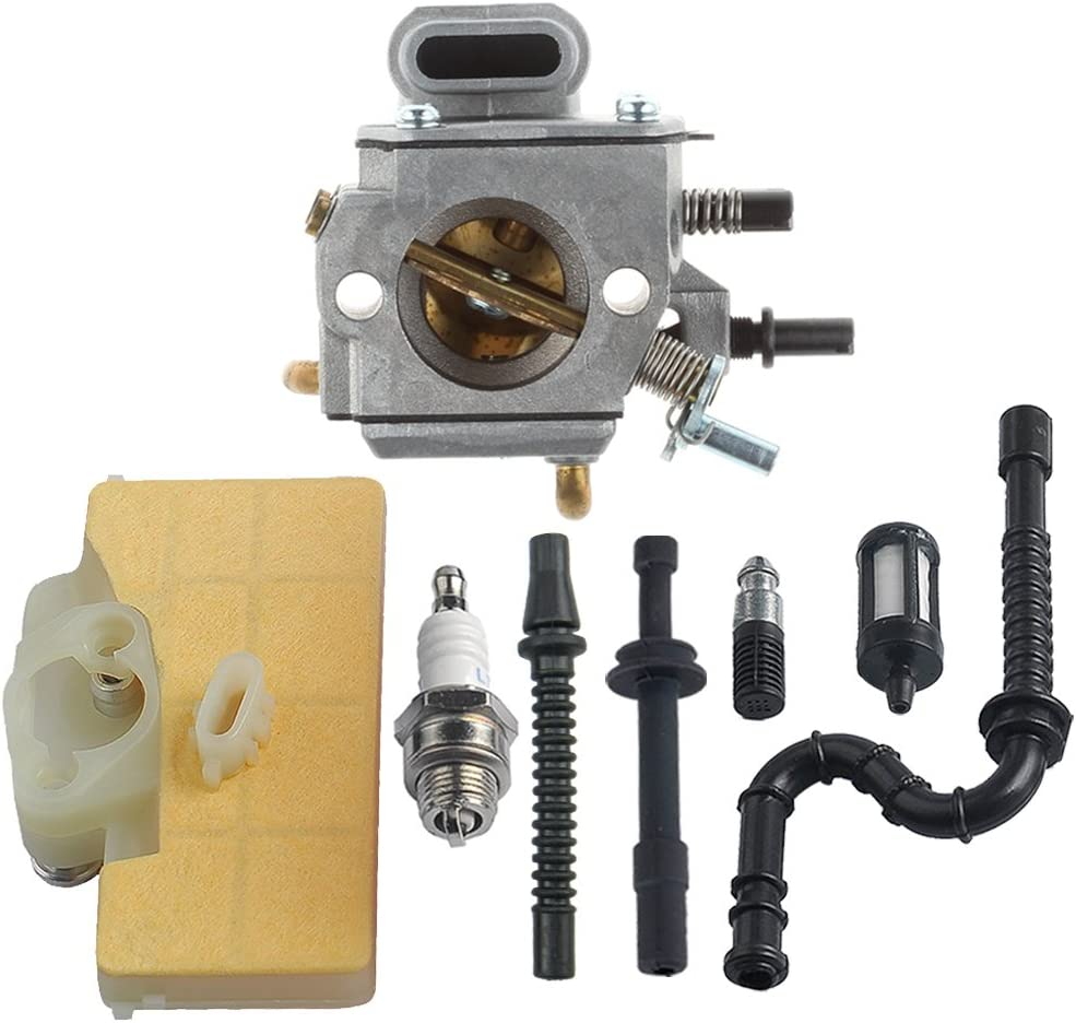 New Carburetor Ignition Coil /& Fuel Line Kit for Stihl MS290 MS310 MS390 029 039