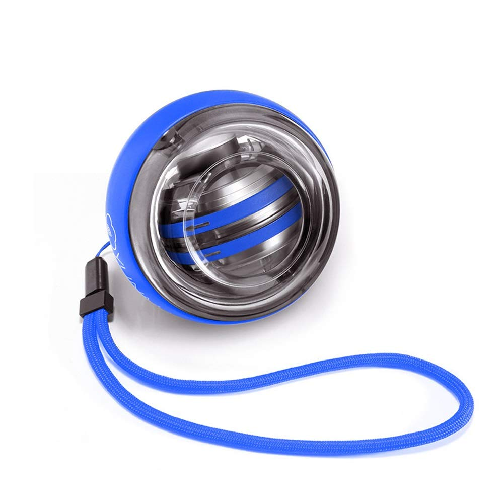 WMM - Wrist ball Arm trainingModels Gyroscopes - Wrist Strengthener Gyro Ball, Hand Strengthening Trainer (Color : Blue) by WMM - Wrist ball
