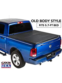 Gator ETX Soft Tri-Fold Truck Bed Tonneau Cover | 59201 | fits Dodge Ram 2009-18, 2019 Classic 1500 (5 ft 7 in bed)