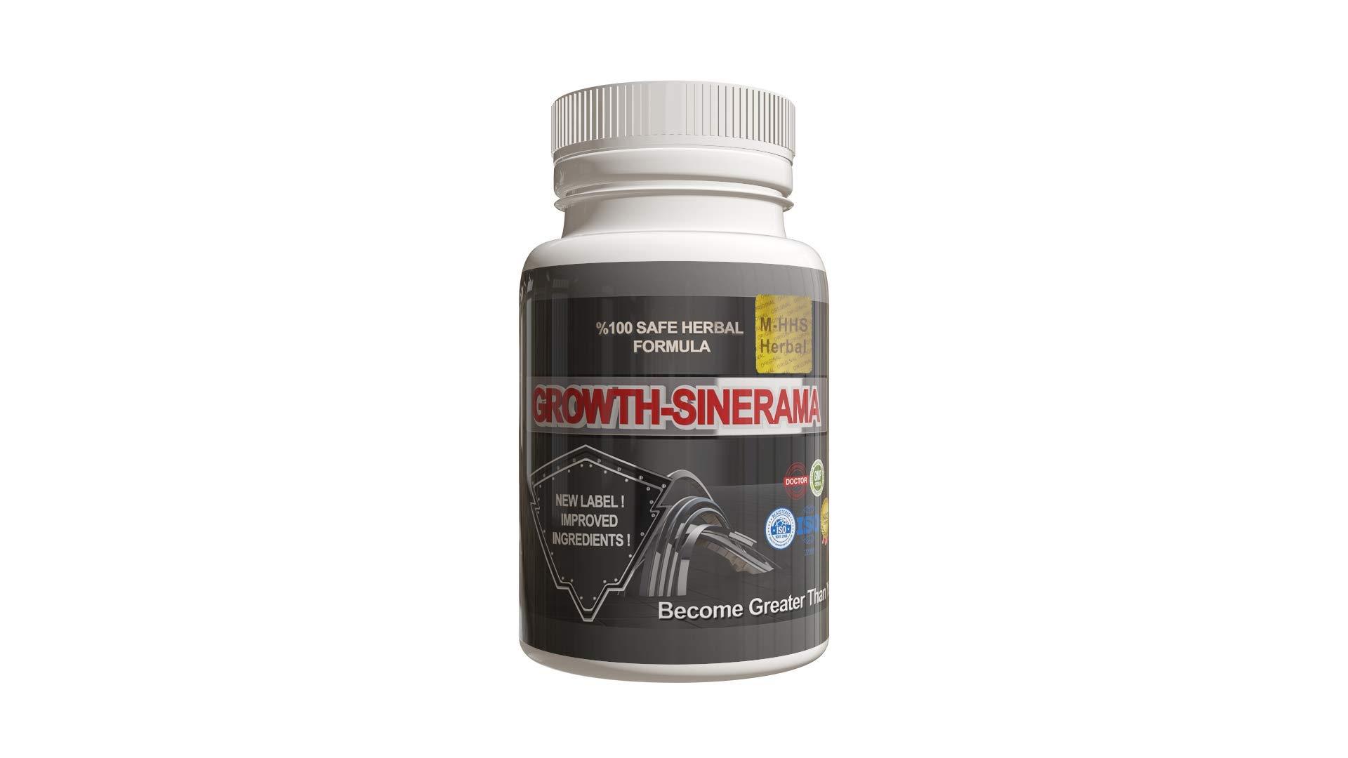 1 Month Supply of Growth Sinerama Wmx Tablet