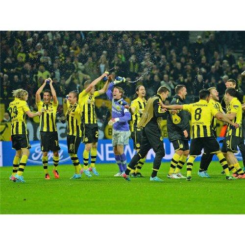 Borussia Dortmund Poster On Silk <47cm x 35cm, 19inch x 14inch> - A632B3