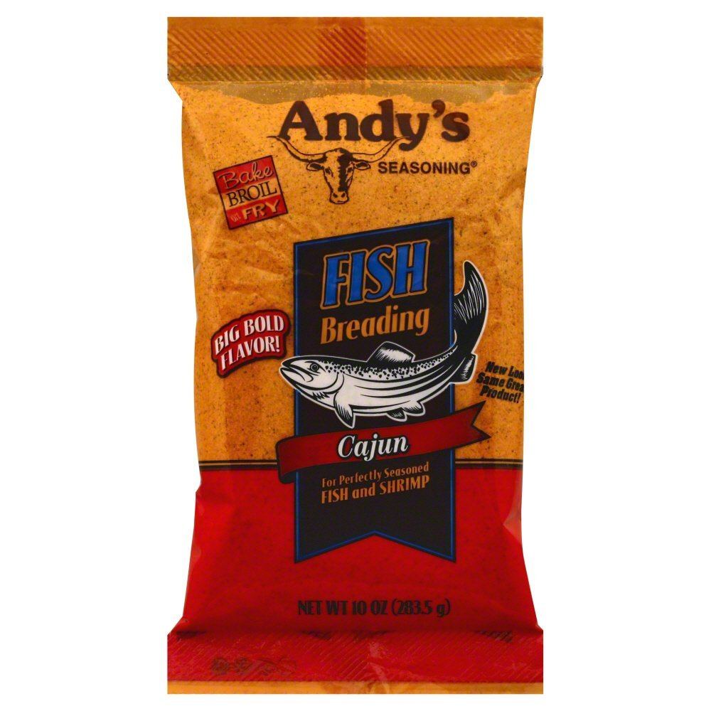 Andy's Cajun Fish Breading 10 Oz(Pack of 1) by Andy's (Image #1)