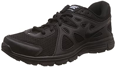 san francisco 43712 cd7d1 Nike Men s Black Rubber Running Shoes - 10