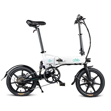 jannyshop - Bicicleta eléctrica Plegable FIIDO D2s con ...