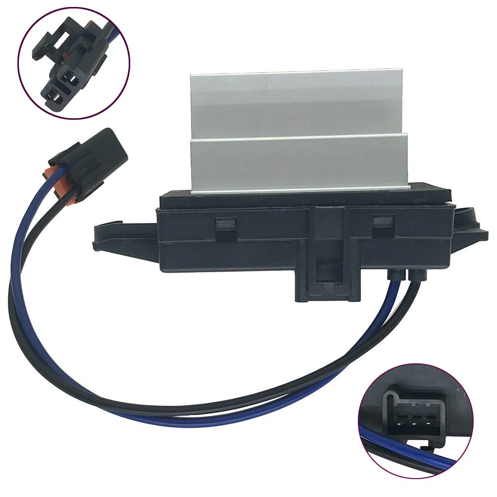 4P1516 Improved Design HVAC Heating Ventilation Air Conditioning Blower Motor Resistor Module for Buick Cadillac Chevrolet GMC Isuzu Oldsmobile Saab Replaces OE#MT1805 RU-631 JA1639 BMR34 YunStal