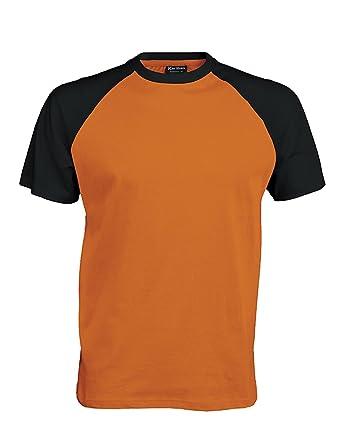 Kariban Short Sleeve Baseball T Shirt YAudXbb