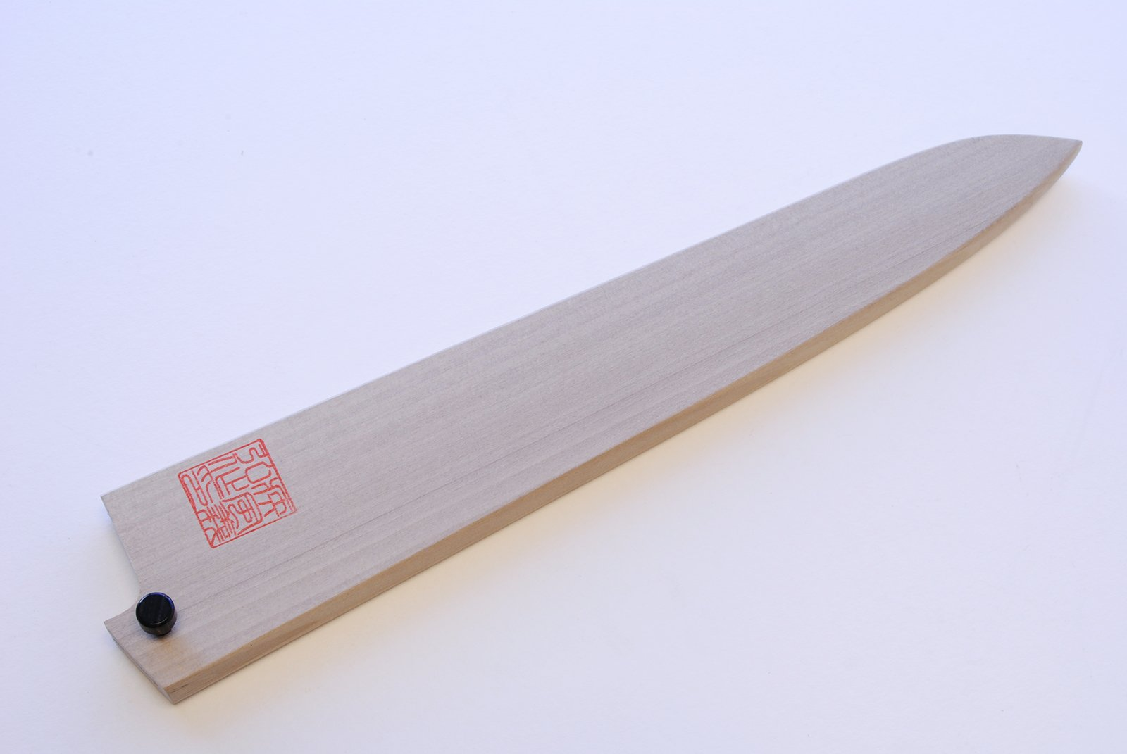 Yoshihiro Natural Magnolia Wood Saya Cover Blade Protector for Sujihiki Slicer (270mm)