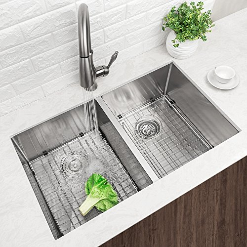 10 inch deep stainless steel kitchen sink lordear modern 32 inch 16 10 inch handmade 9679