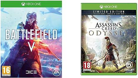 Battlefield V + Assassins Creed Odyssey - - Xbox One [Importación inglesa]: Amazon.es: Videojuegos