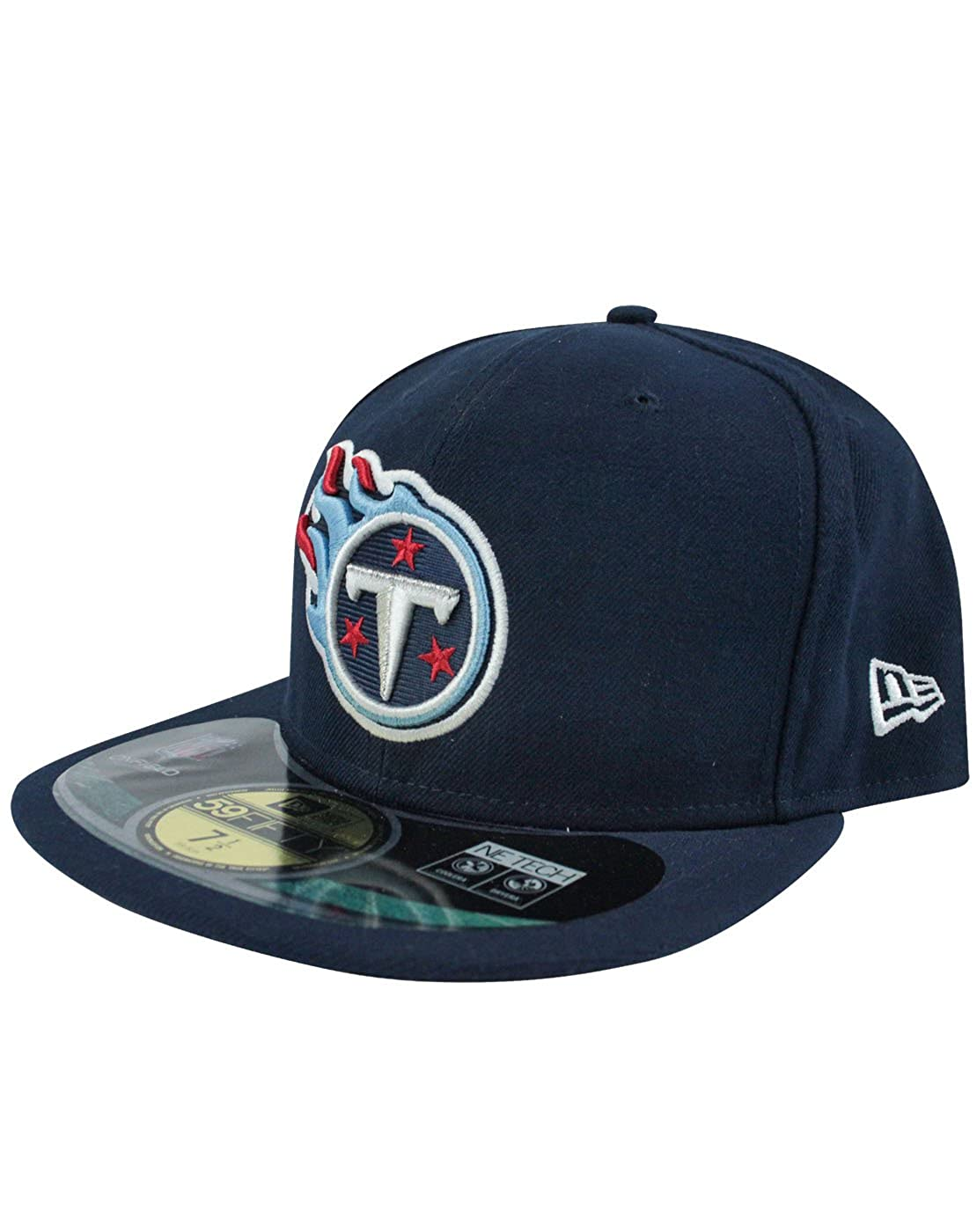 on sale 44194 db88d Amazon.com  New Era 59Fifty NFL Tennessee Titans Cap  Clothing