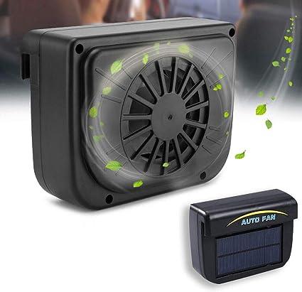 Solar Power Mini aire acondicionado, ventilador de ventilación ...