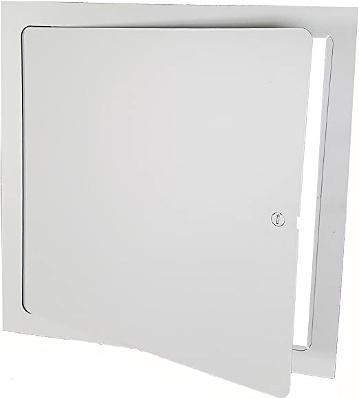 Amazon Com Premier Fl 10 X 10 Flush Access Door Steel Powder Coated White Garden Outdoor