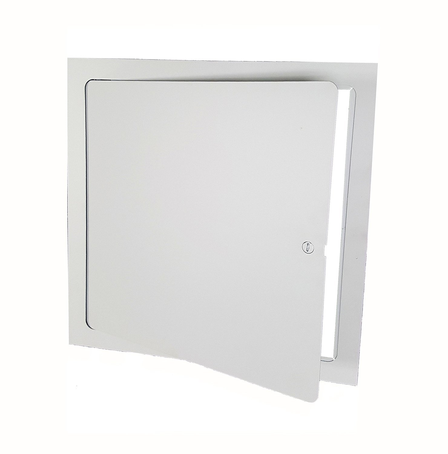 Premier FL-12 x 12 Flush Access Door, Steel, Powder Coated White by Premier Access Doors