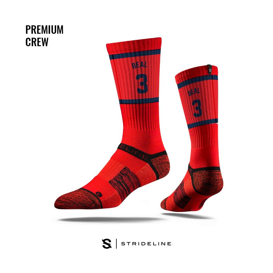 One Size Strideline NBA Premium Athletic Crew Socks
