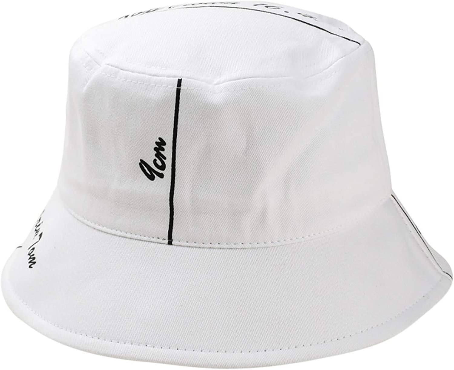 Outdoor Fisherman Hat Unisex Printing Letter Hat Fashion Wild Sun Protection Cap Bucket Hat