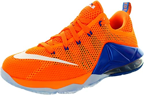 : Nike Kids Lebron XII Low (GS) Bright CitrusWht