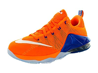 Nike Kids Lebron XII. Low (GS) Basketball-Schuh, orange - Bright