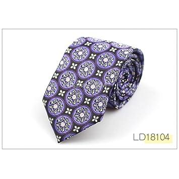 DYDONGWL Corbata Fina Hombre,Corbatas para Hombres Corbatas para ...
