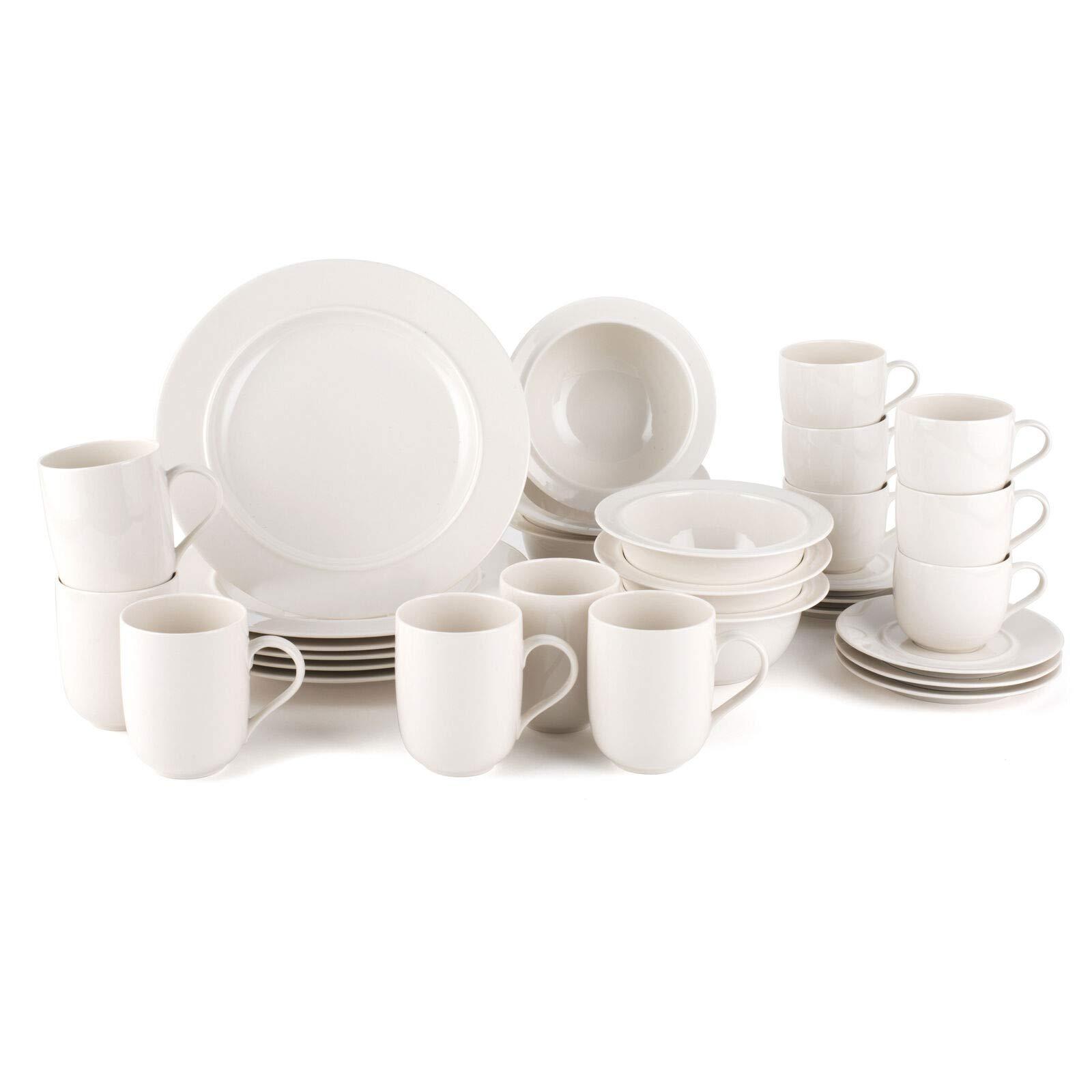 Alessi La Bella Tavola Porcelain 6 Place Setting Breakfast And Dinner Dining Set Buy Online In El Salvador At Elsalvador Desertcart Com Productid 61735879