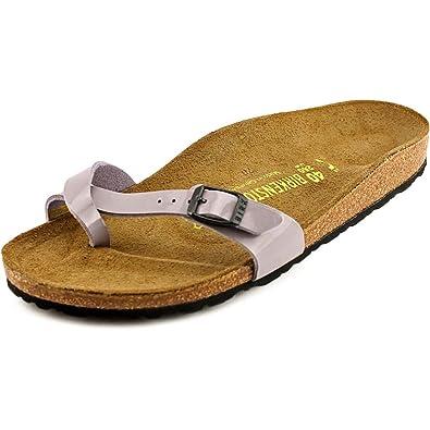 Birkenstock Piazza Women US 9 NS Purple Slides Sandal EU 40