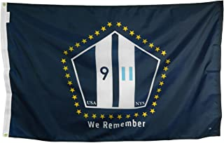 product image for Gettysburg Flag Works 4x6' The Official 9/11 Commemorative Fag Design Constructed Using Heavyweight 200 Denier All-Weather Nylon