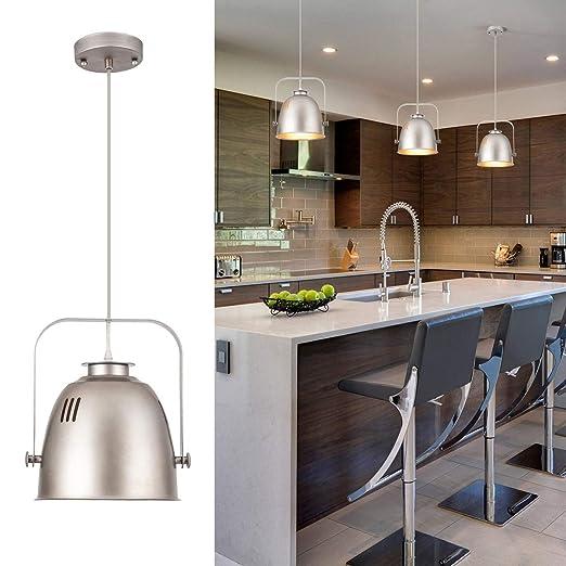 Amazon.com: YIFI - Lámpara de techo de metal para cocina ...