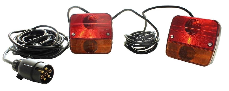 Anhängerbeleuchtung Beleuchtungsset Rückleuchten Rücklichter ...