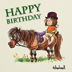 Pferde Happy Birthday