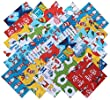 Robert Kaufman DR SEUSS FAVORITES RETURNS Precut 6.5-inch Cotton Fabric Quilting Squares Charm Pack Assortment