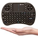 BlazeBox i8 Mini 2.4GHz Wireless Touchpad Keyboard Mouse for PC, Pad, Xbox, Playstation, Google Android Smart TV Box, HTPC, IPTV (Black)