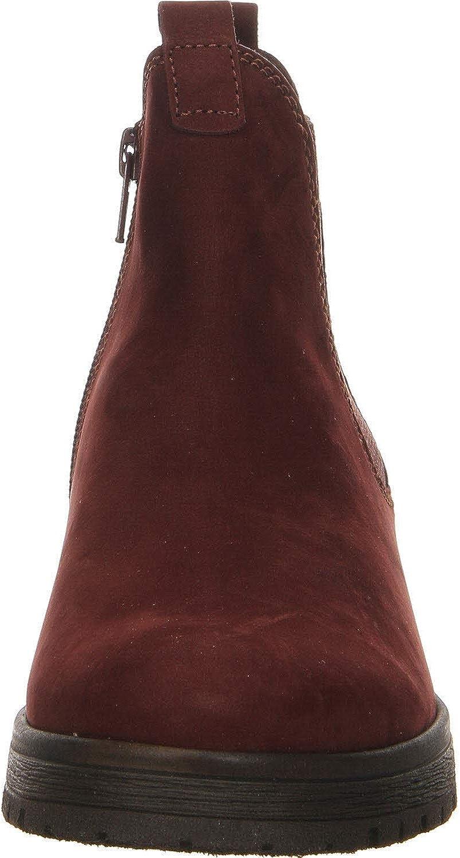 Gabor Damen Comfort Sport Stiefeletten Rot Dark Red Micro 48