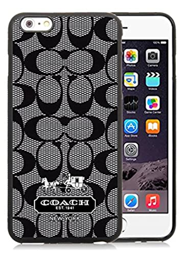 amazon com coach black iphone 6 plus 5 5 inch screen tpu cover caseamazon com coach black iphone 6 plus 5 5 inch screen tpu cover case fashionable and charming designed (6431879249834) books