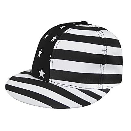 b4340e44495 Men Women American Flag Pattern Baseball Cap Sun Protection Visor Cotton Sun  Hats Breathable Outdoor Sports